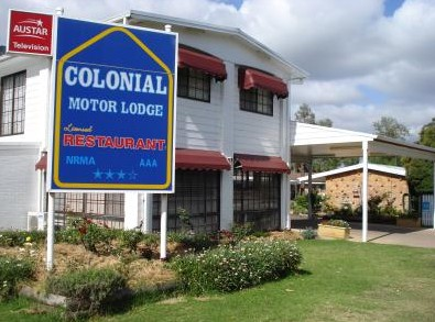 Colonial Motor Lodge - Mackay Tourism