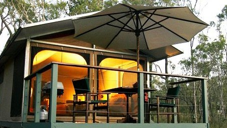 Jabiru Safari Lodge at Mareeba Wetlands - Mackay Tourism