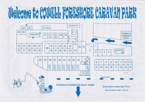 Cowell Foreshore Caravan Park amp Holiday Units - Mackay Tourism