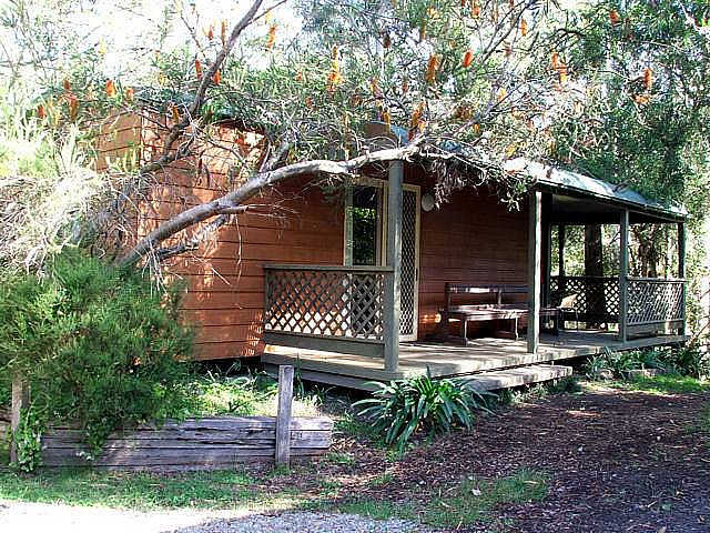 Jervis Bay Cabins  Hidden Creek Real Camping - Mackay Tourism