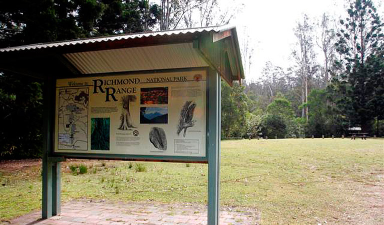 Peacock Creek campground - Mackay Tourism
