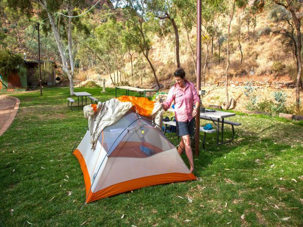 Standley Chasm Angkerle Camping - Mackay Tourism
