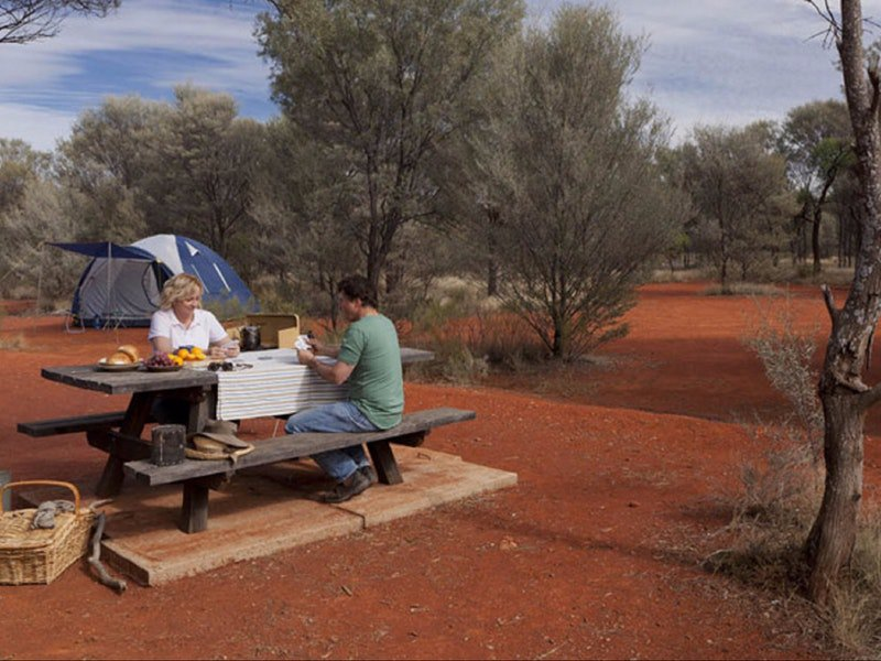 Dry Tank campground - Mackay Tourism