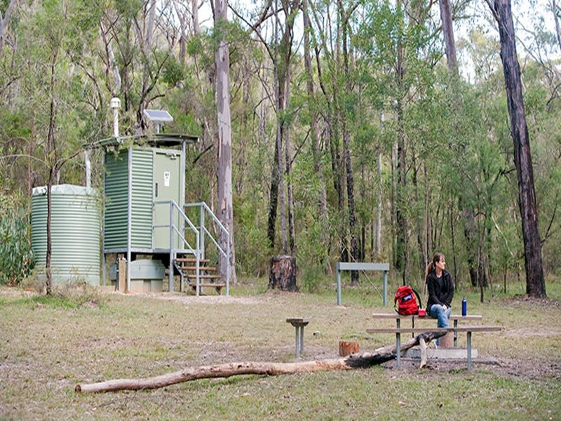 Ten Mile Hollow campground - Mackay Tourism