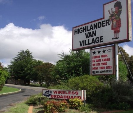 Highlander Van Village - Mackay Tourism