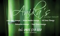 Anikas Massage Therapy - Mackay Tourism