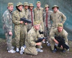 Challenge Paintball  Laser Skirmish - Mackay Tourism