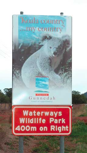 Waterways Wildlife Park - Mackay Tourism