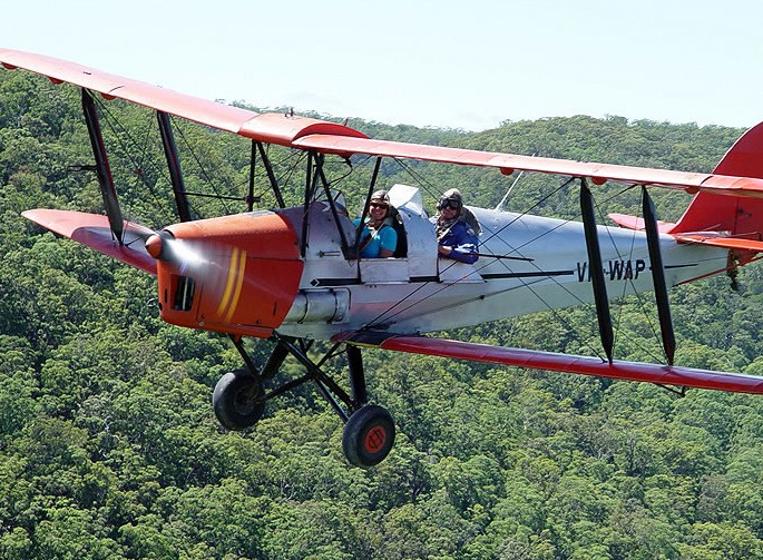 Tigermoth Joy Rides - Mackay Tourism