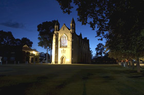 Chapel of St Mary and St George - Mackay Tourism