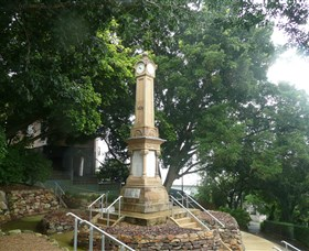 Ithaca War Memorial and Park - Mackay Tourism