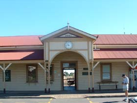 Maryborough Railway Station - Mackay Tourism