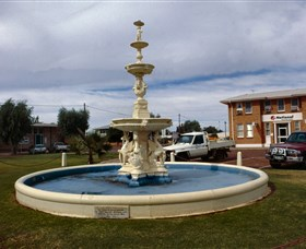 Cunnamulla War Memorial Fountain