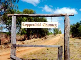Copperfield Store and Chimney - Mackay Tourism