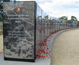 Vietnam Veterans Commemorative Walk - Mackay Tourism