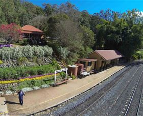 Spring Bluff Railway Station - Mackay Tourism