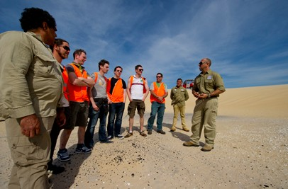 Aboriginal Tours and Sand Dune Adventures - Mackay Tourism