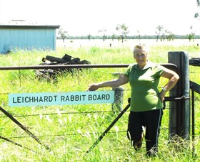 Morven Rabbit Board Gate - Mackay Tourism