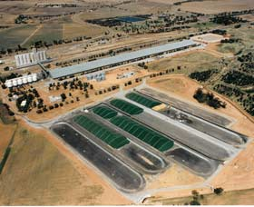 Co-operative Bulk Handling CBH Wheat Storage and Transfer Depot