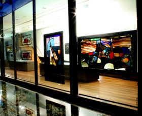 National Art Glass Collection - Mackay Tourism