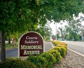 Memorial Avenue in Cowra - Mackay Tourism