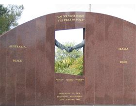 Cowra Italy Friendship Monument - Mackay Tourism
