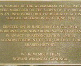Myall Creek Massacre Memorial Walk - Mackay Tourism