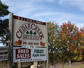 Cedar Creek Orchard - Mackay Tourism