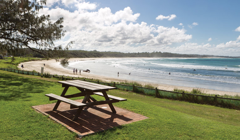 Woolgoolga Beach and Headland - Mackay Tourism