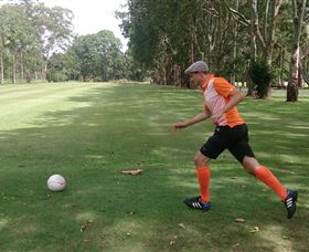 FootGolf at Teven Valley Golf Course - Mackay Tourism