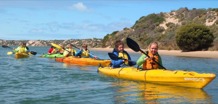 Canoe the Coorong - Mackay Tourism