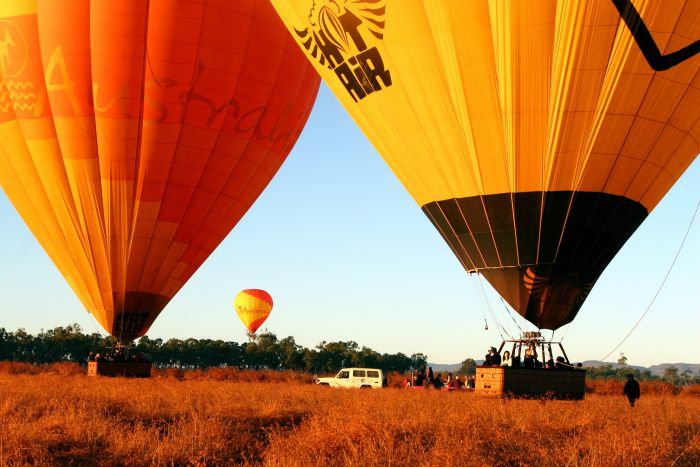 Hot Air Balloon Scenic Rim - Mackay Tourism