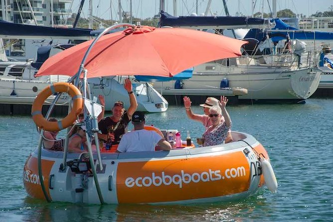 Self-Drive BBQ Boat Hire Mandurah - Group of 7 - 10 people - Mackay Tourism