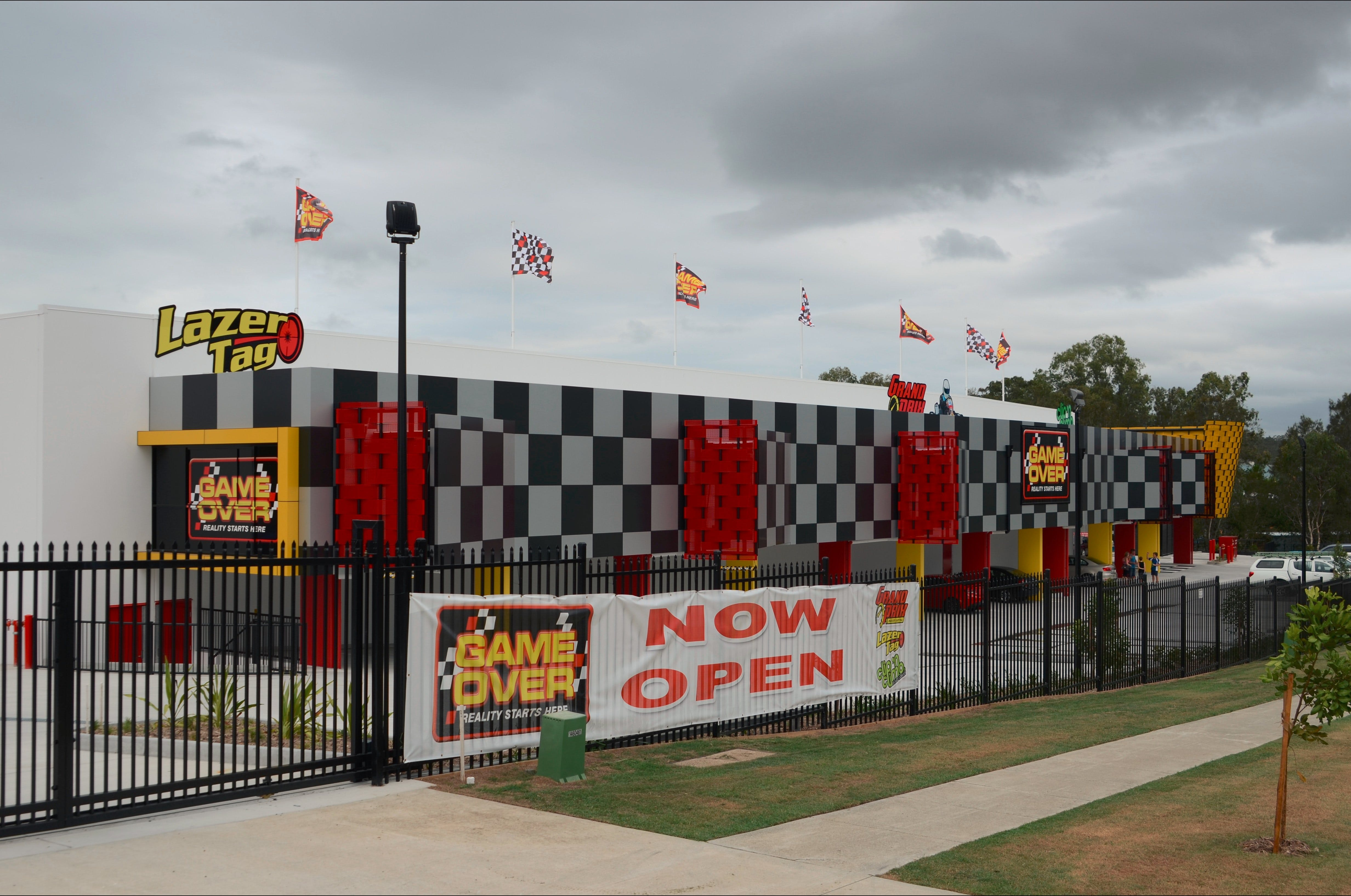 Game Over Indoor Go Karting Adventure Climbing Walls and Lazer Tag Centre - Mackay Tourism