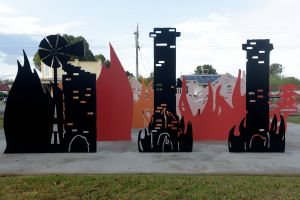Lyrics Landscapes and Lintels - Leeton Public Art Trail - Mackay Tourism