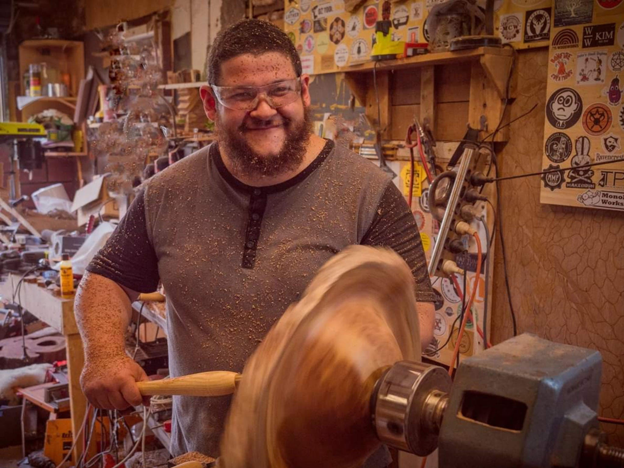 The Bearded Woodworker - Mackay Tourism
