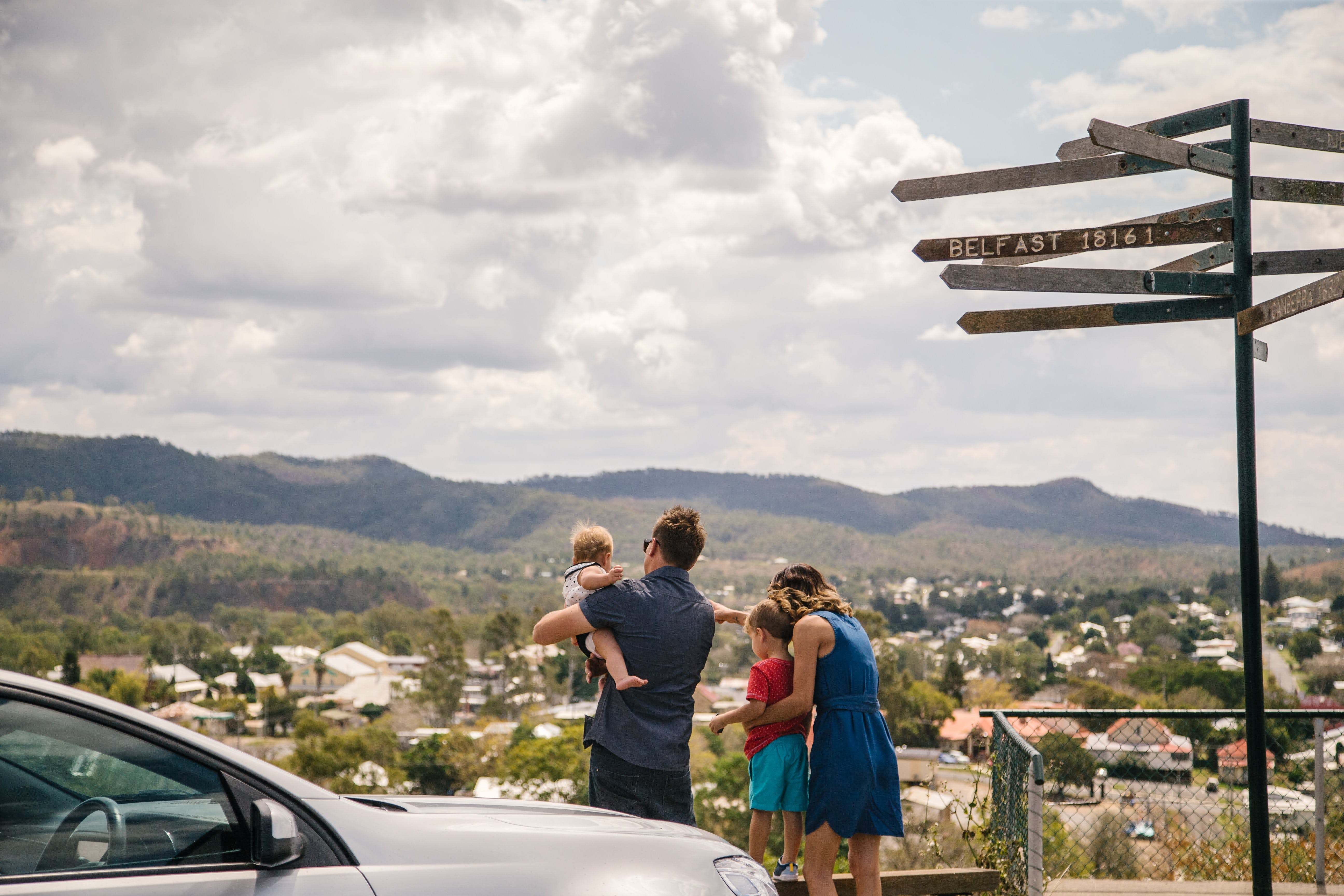 Arthur Timms Lookout Mount Morgan - Mackay Tourism