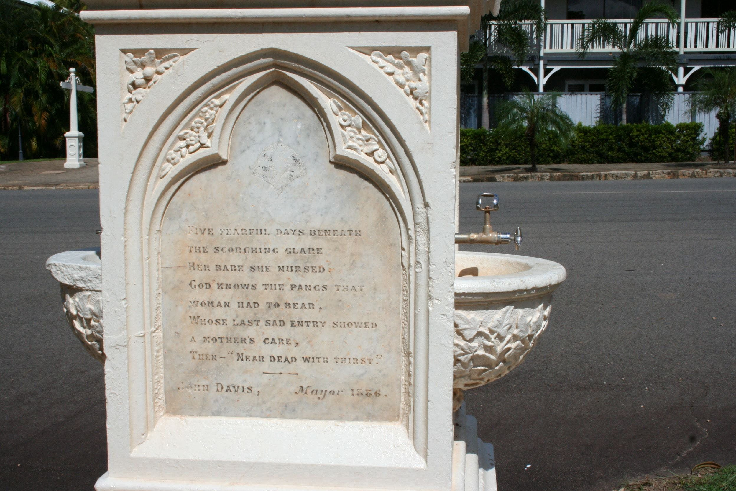 Mary Watson Monument Cooktown - Mackay Tourism