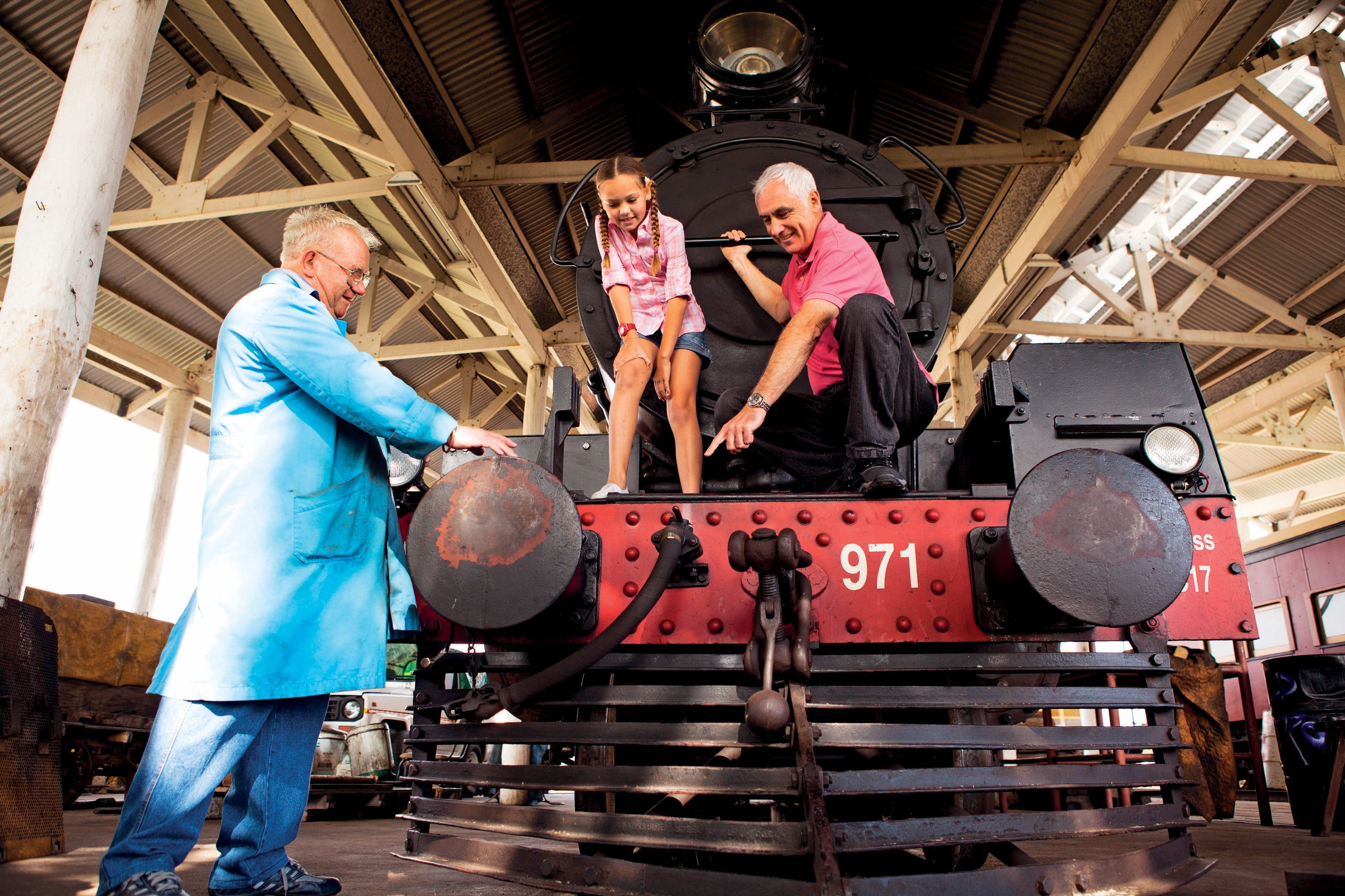 Southern Downs Steam Railway - Mackay Tourism