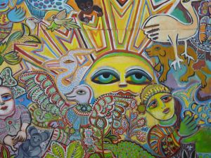 The Painting of Life by Mirka Mora - Mackay Tourism