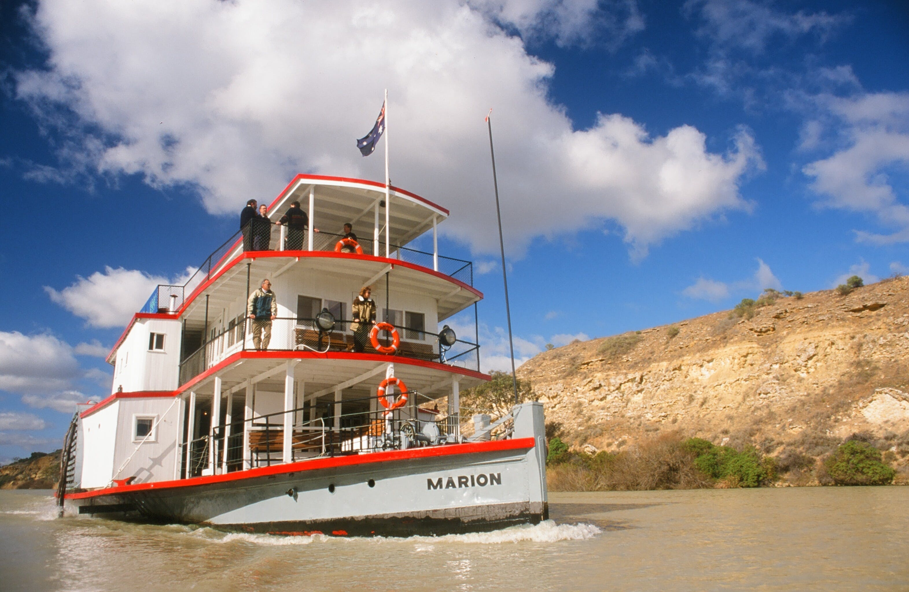 PS Marion Short Cruises - all cruises cancelled until further notice - Mackay Tourism