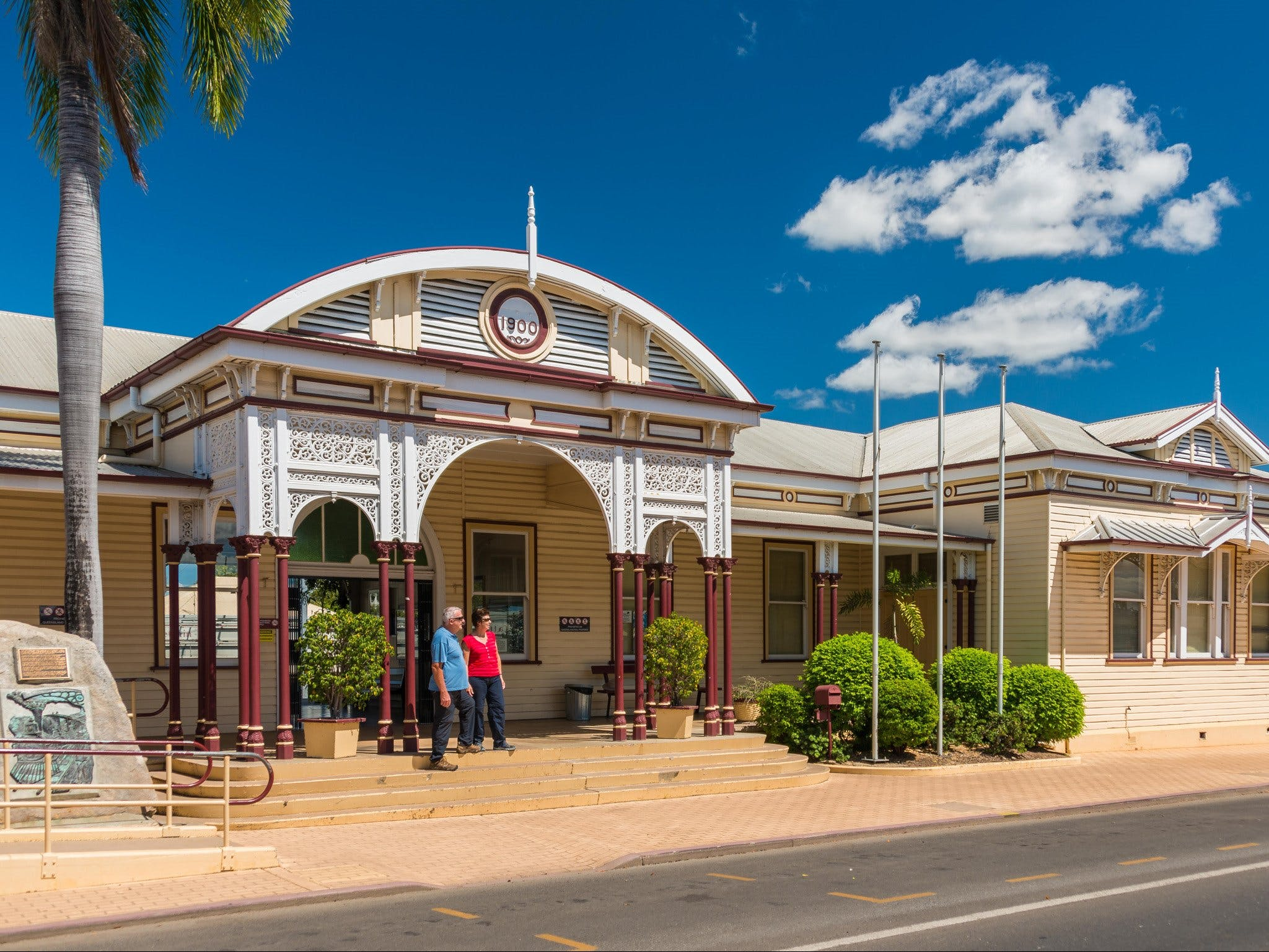 Emerald Historic Railway Station - Mackay Tourism