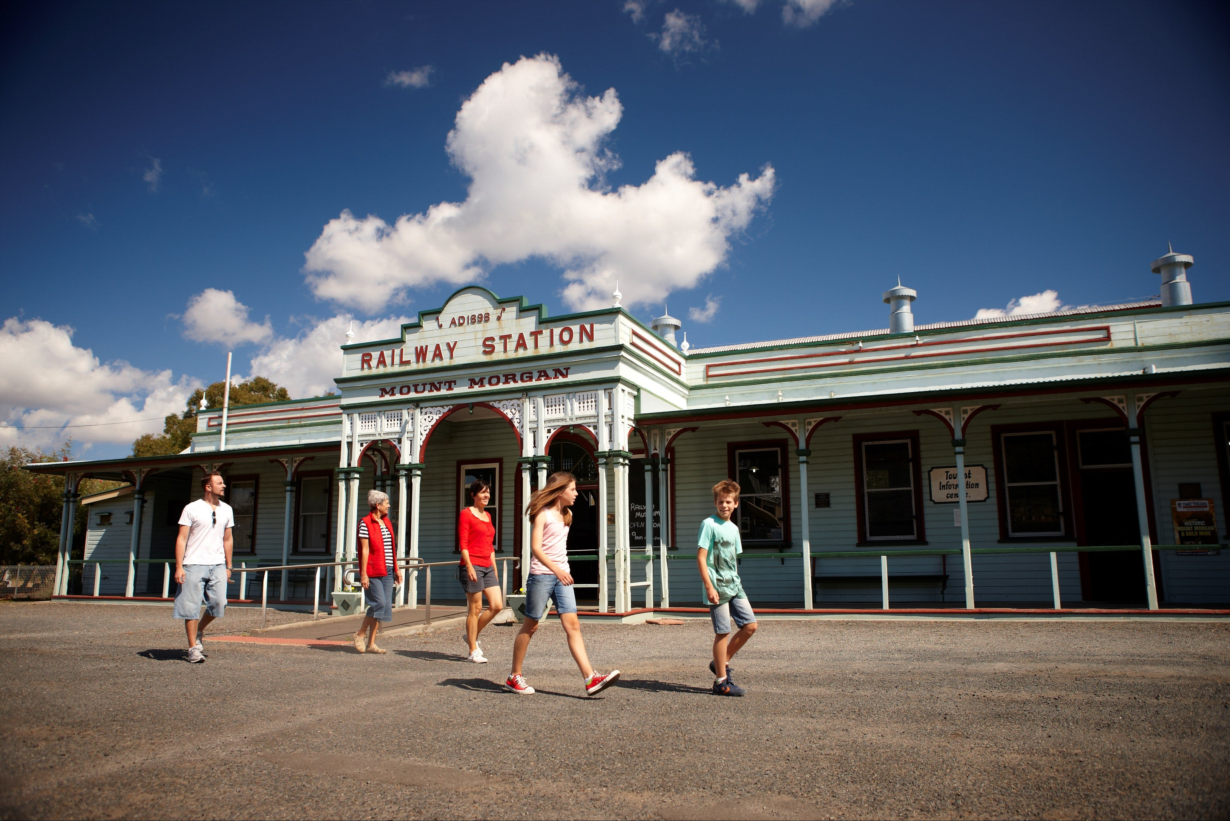 Mount Morgan Historical Railway Museum - Mackay Tourism