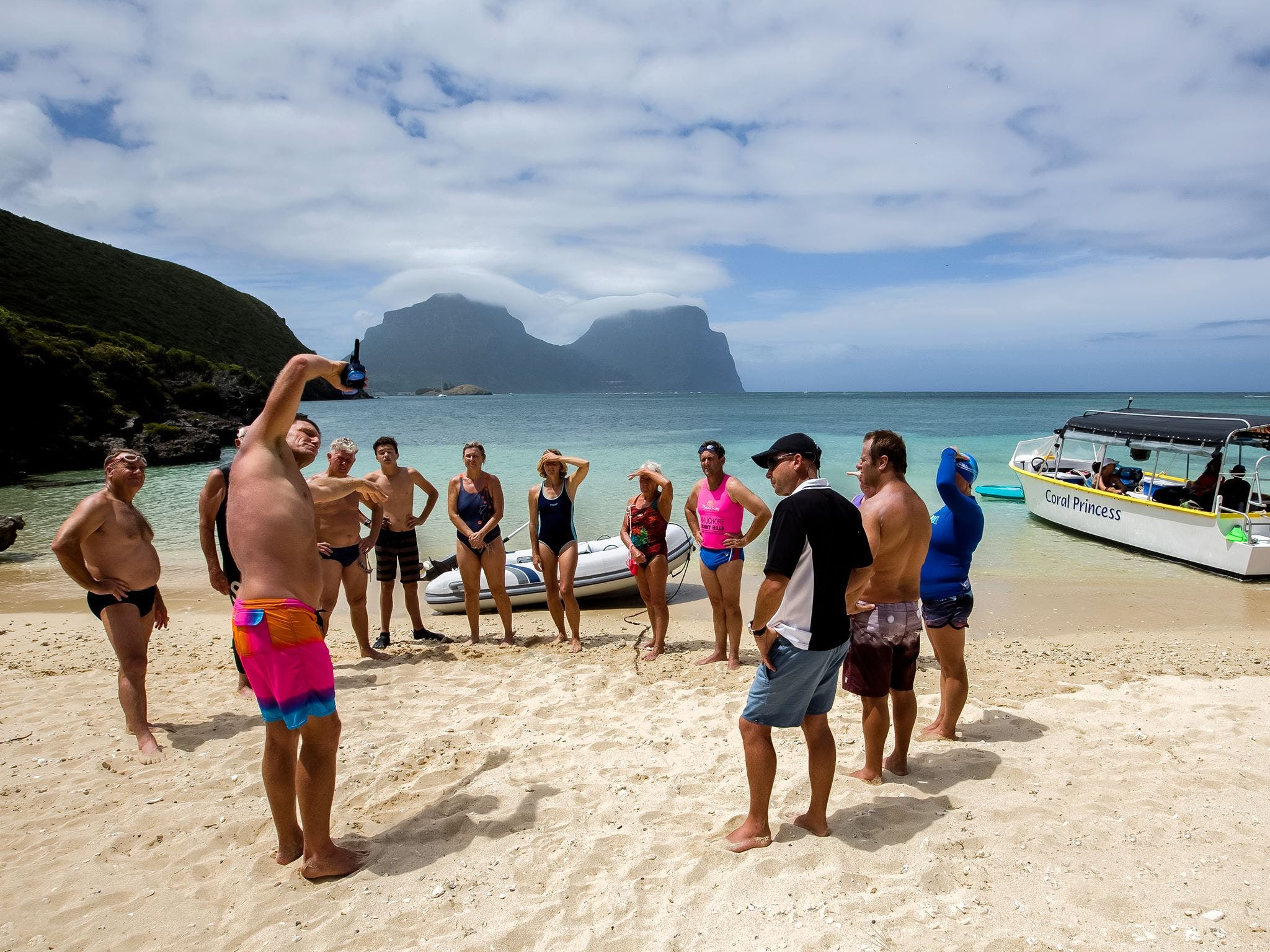 Ocean Swim Week with Trevor Hendy Pinetrees Lord Howe Island - Mackay Tourism
