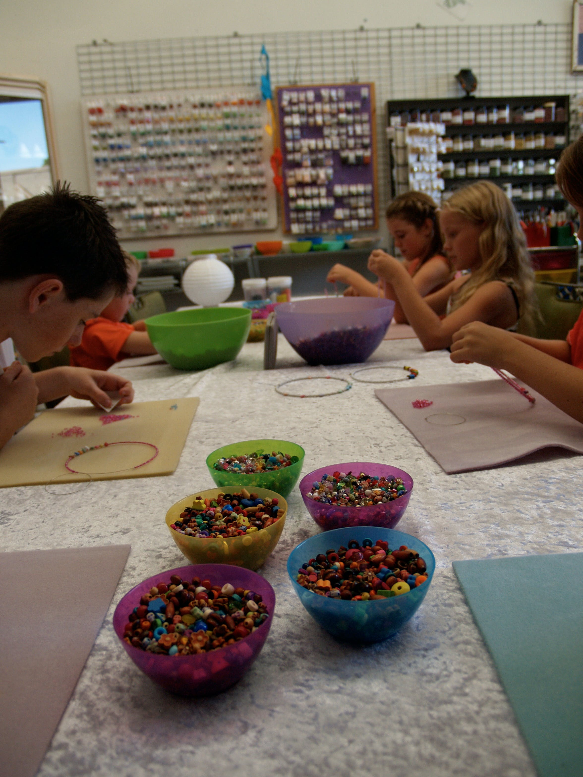 School Holiday One Hour Beading Workshops - Mackay Tourism