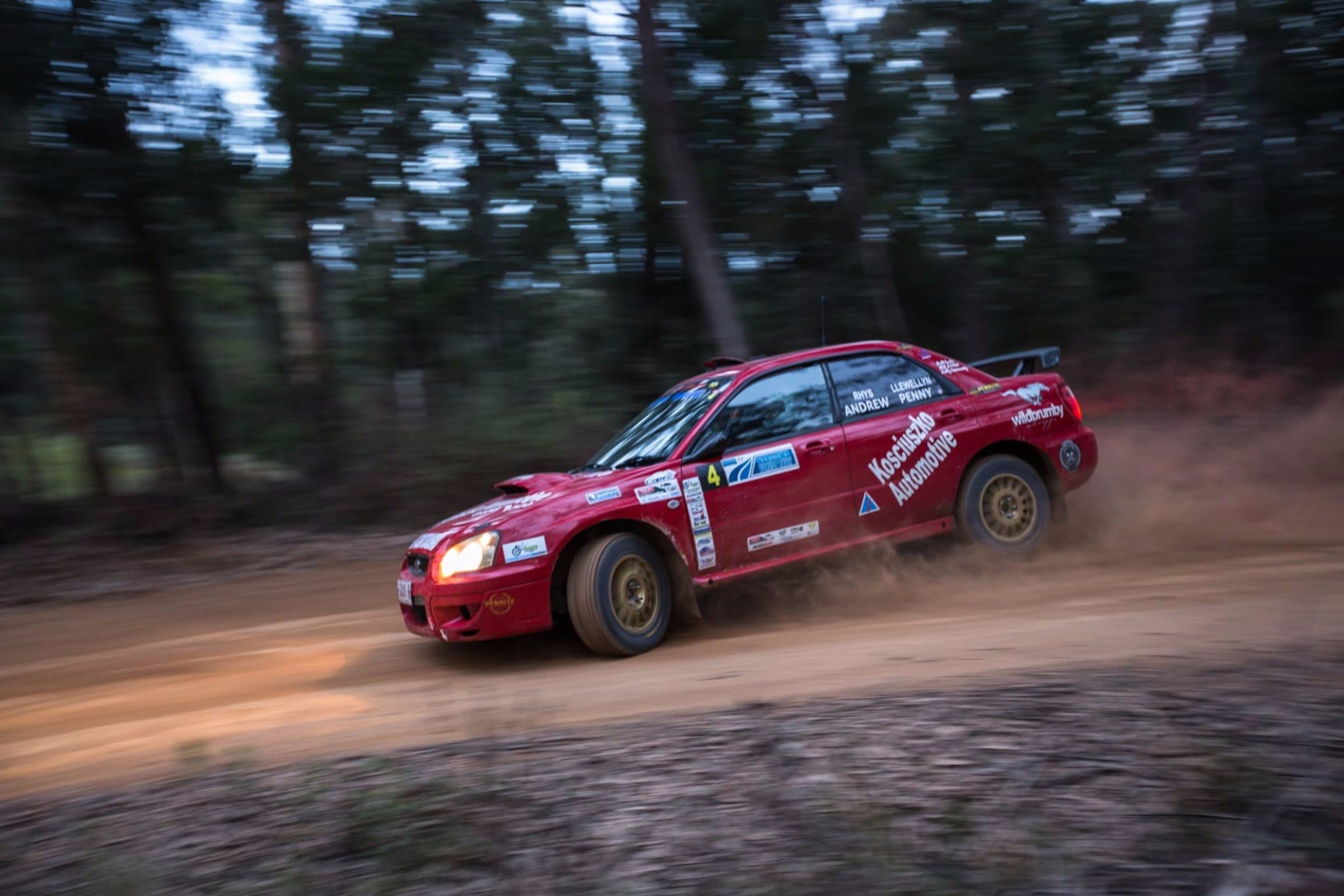 Narooma Forest Rally - Mackay Tourism
