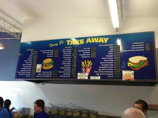 Terry Street Take Away - Mackay Tourism