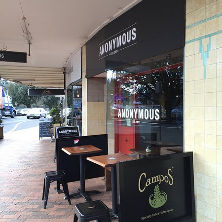Anonymous Cafe - Mackay Tourism