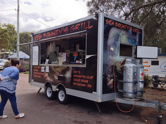Sea Bounty's Grill - Mackay Tourism