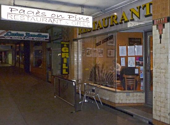Pages on Pine Restaurant - Mackay Tourism